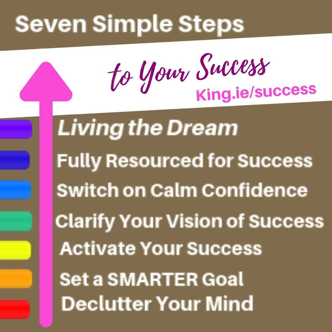 Get the help you need to succeed with Padraig King